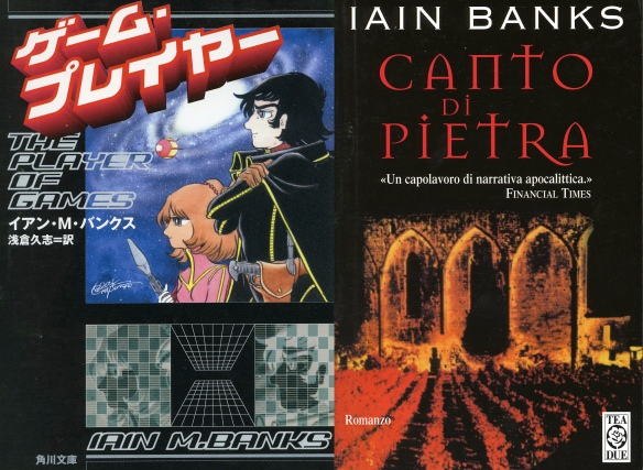 The Player of Games (Japan, 1988), A Song of Stone (Italy, 1999)