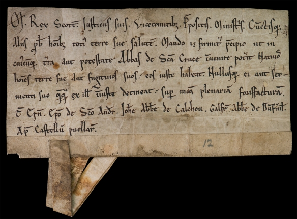 Charter by King Maclcolm IV